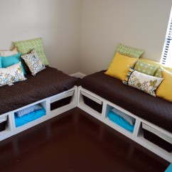 Diy Daybed Sofas Drawing Room Sofa Set Designs Ana White Stratton Daybeds Times Two Projects