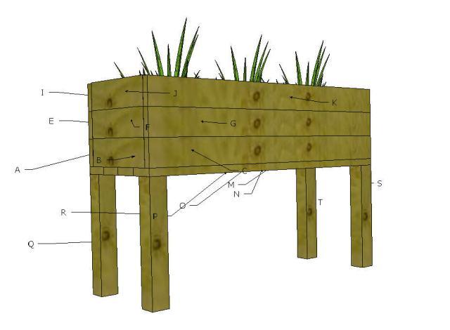 Elevated Planter Box