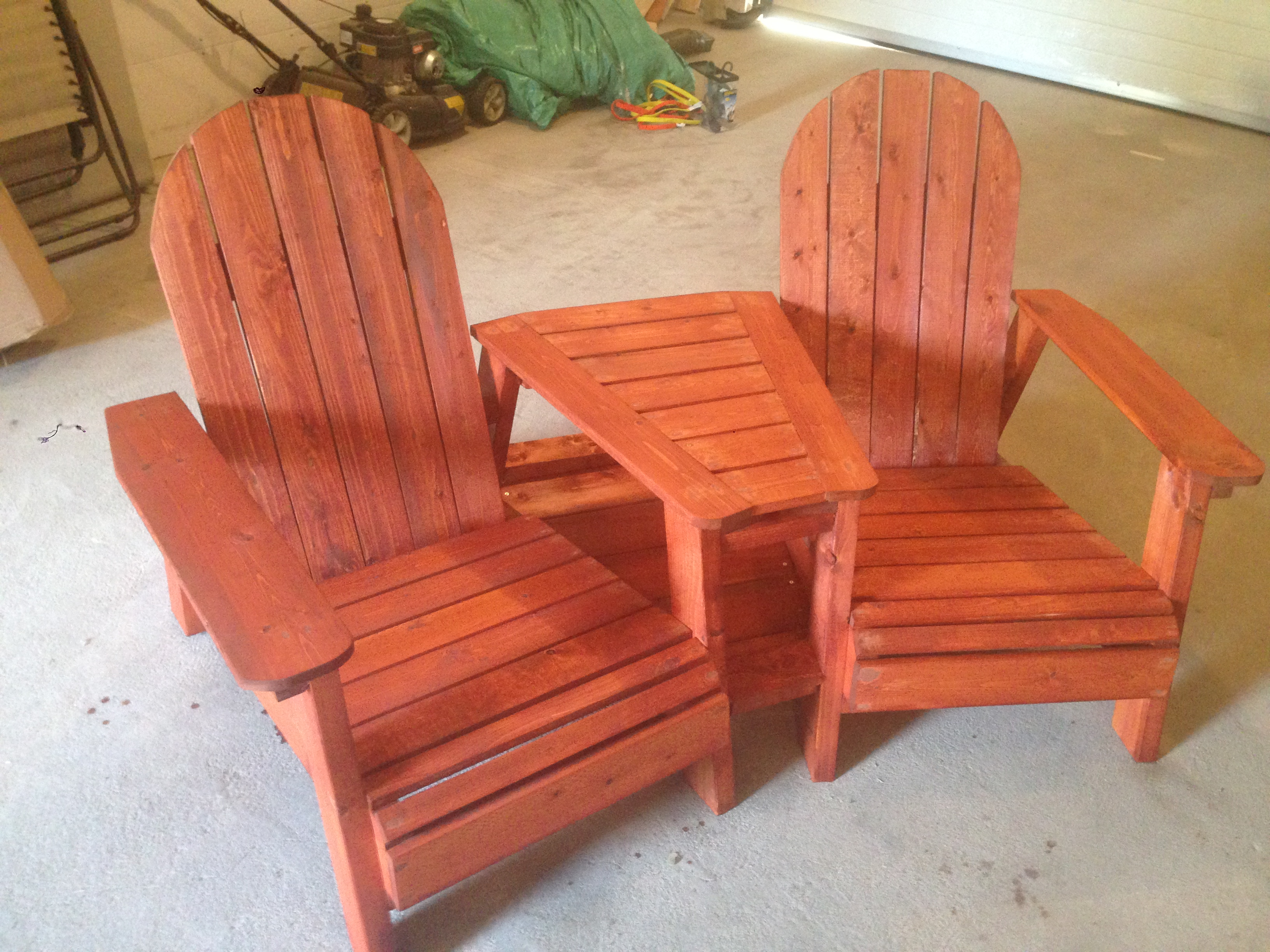 Arondyke Chairs Ana White Adirondack Chairs With Table Diy Projects