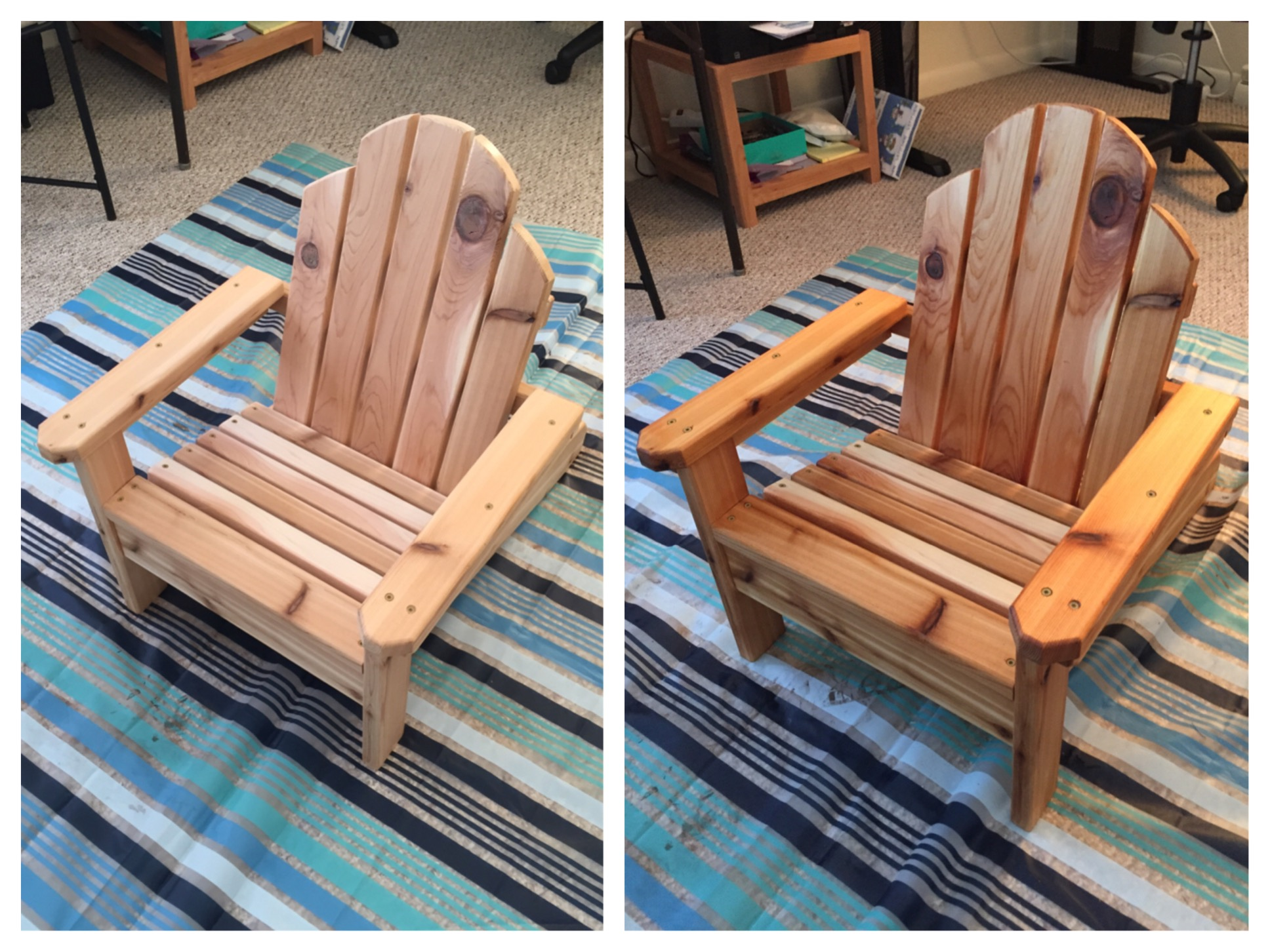 Mini Adirondack Chairs Ana White Mini Adirondack Chair Diy Projects