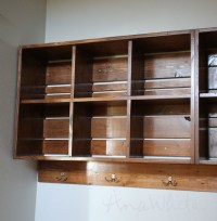 Wall Cubby Crate Shelves | Ana White | Bloglovin