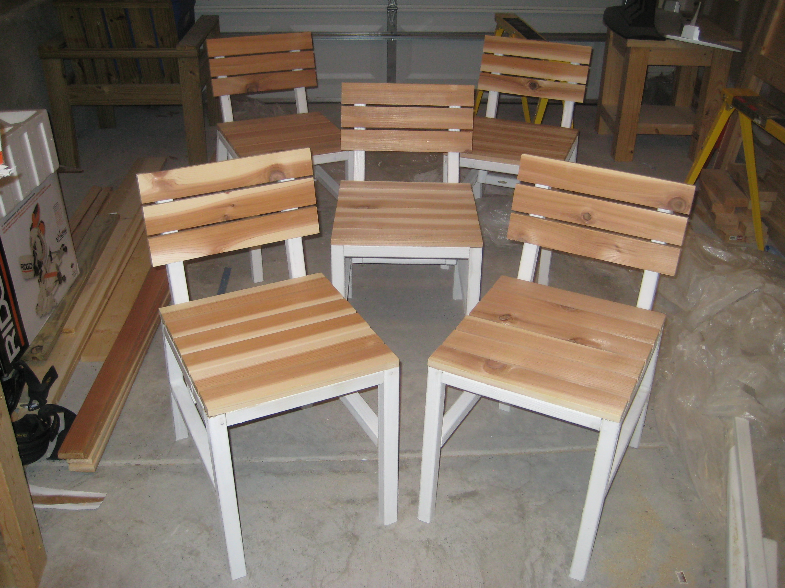 Diy Dining Chairs Ana White Harriet Outdoor Dining Chair With Cedar Slats