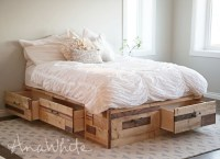 Ana White | Brandy Scrap Wood Storage Bed with Drawers ...