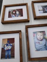 Ana White | Simple Wood Gallery Frame Plans - DIY Projects