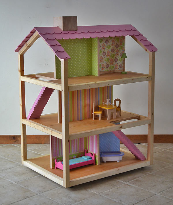 Big Doll House Blueprints