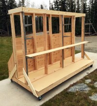 Ultimate Lumber and Plywood Storage Cart | Knock-Off Wood ...