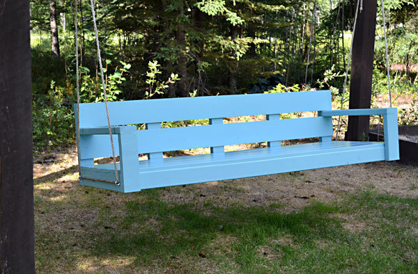 swing chair for 5 year old blue fabric dining chairs ana white modern park bench diy projects we all loved this that made our aunt but with a growing number of little nieces and nephews ranging from months to 10 years