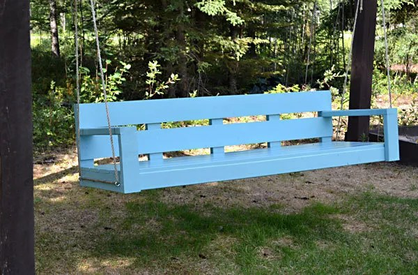 Porch Swing or Bench | Free and Easy DIY Project and Furniture Plans