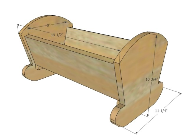 Baby Doll Cradle Plans Free