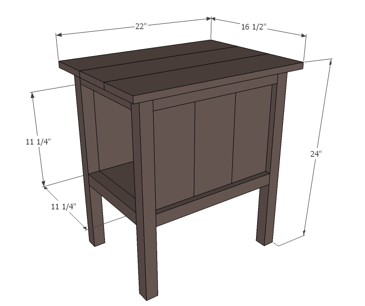 Hako Coffee Table: PDF Plans End Table Dimensions Download Bunk Bed Plans