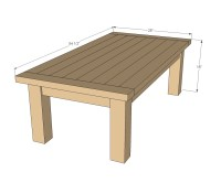 Woodwork Plans Build Outdoor Coffee Table PDF Plans