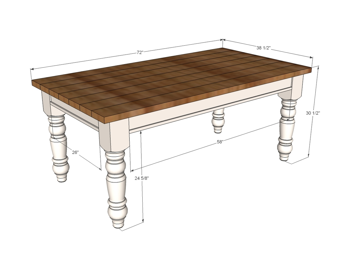 farmhouse sofa table plans simple wood set design ana white husky diy projects