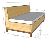 Ana White | Storage Sofa - DIY Projects