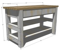 PDF DIY Wood Plans Kitchen Island Download wood patio ...