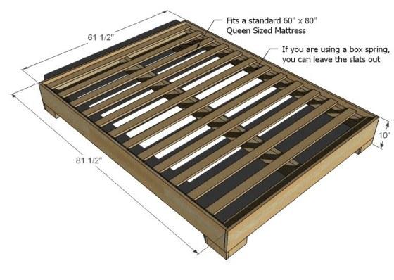 Wood Bed Frame Designs
