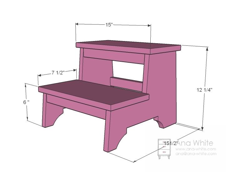Build Diy Children S Bathroom Step Stool Plans Pdf Plans
