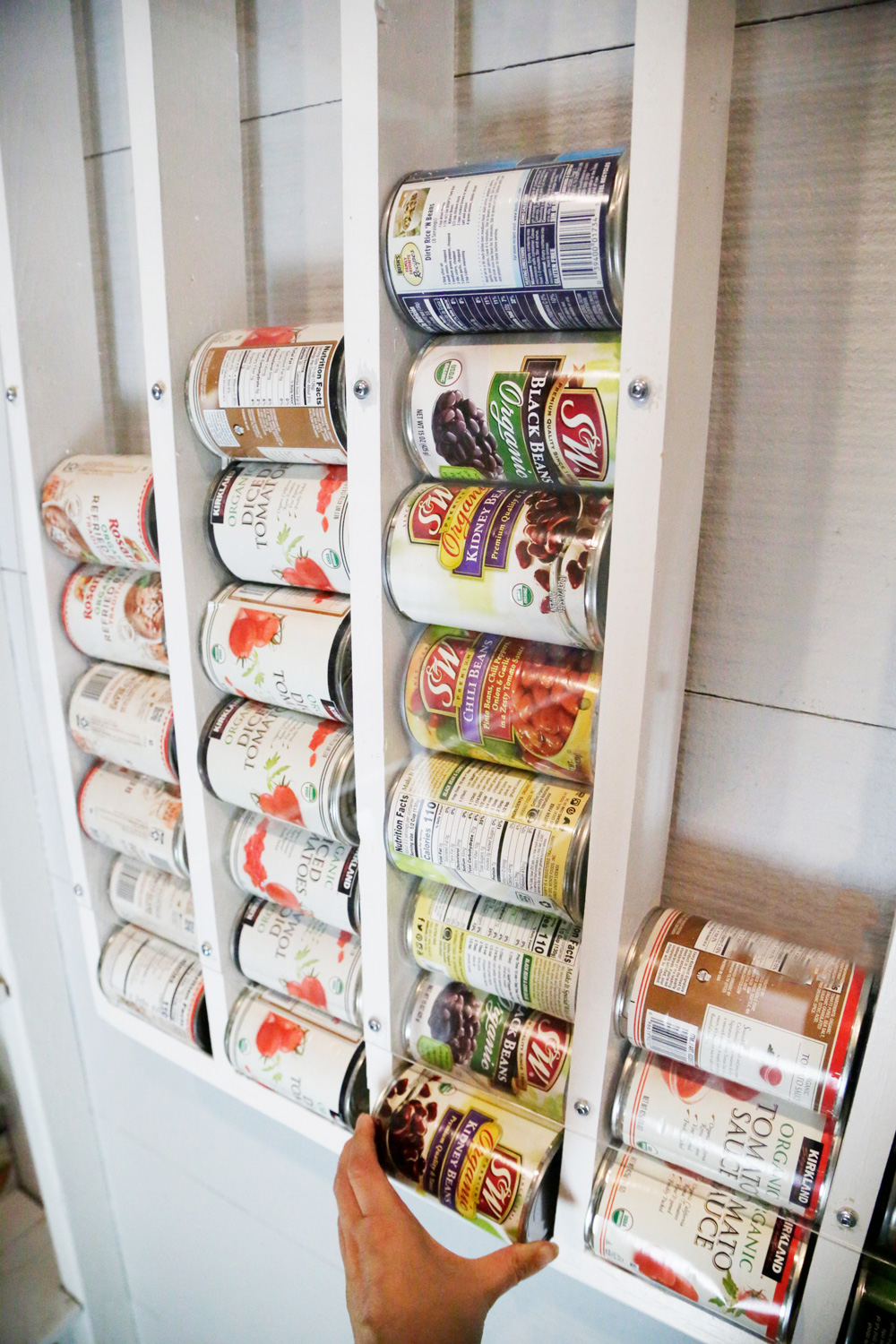 DIY Canned Food Dispenser-id#585078- by Budget101.com