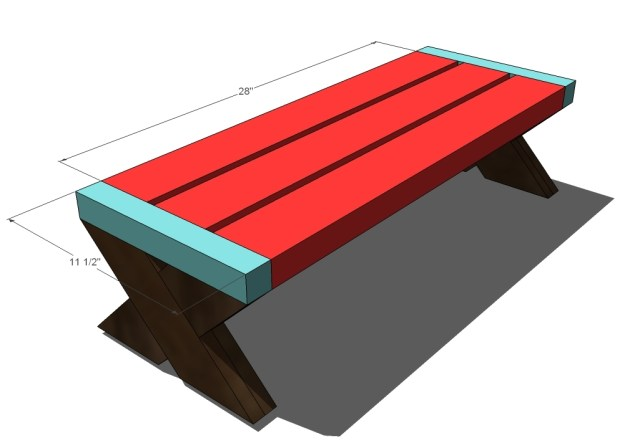 Building A Picnic Table Without Benches   Search Results   DIY ...