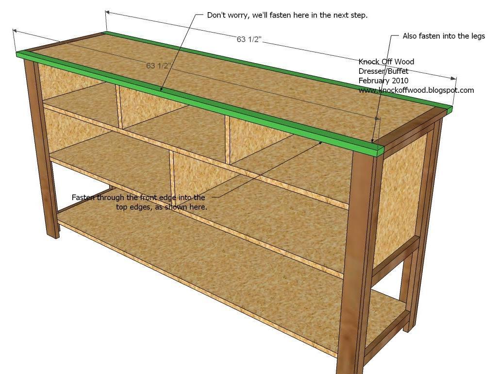 Build DIY Mdf dresser plans Plans Wooden wood turning ...