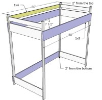 BUILDING LOFT BED FREE PLANS  Find house plans