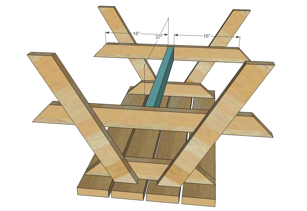 Wood Shop: Plans For Building A Picnic Table With Separate
