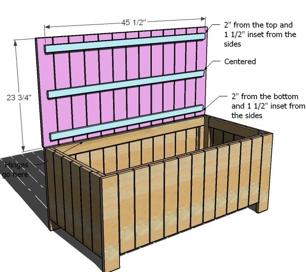 Pdf Plans Storage Bench Plans Outdoor Download Plans Dog
