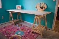 Ana White | Adjustable Height Sawhorses - DIY Projects