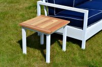 Ana White   Simple White Outdoor End Table - DIY Projects
