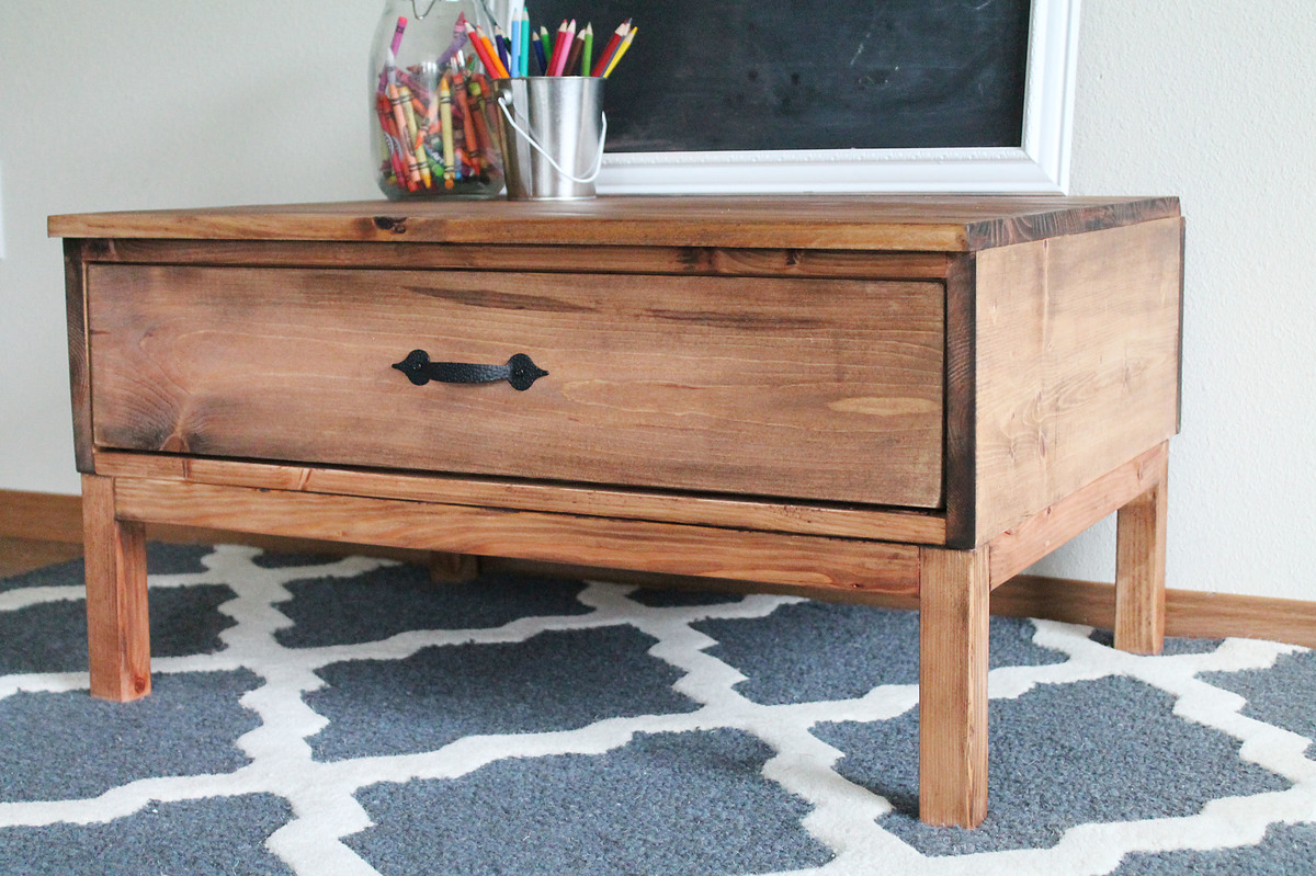Minwax Two Tone Oil Based Stain On Pine
