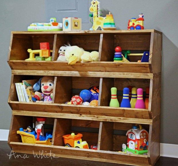 Wooden Toy Storage Bins - Home Design Ideas
