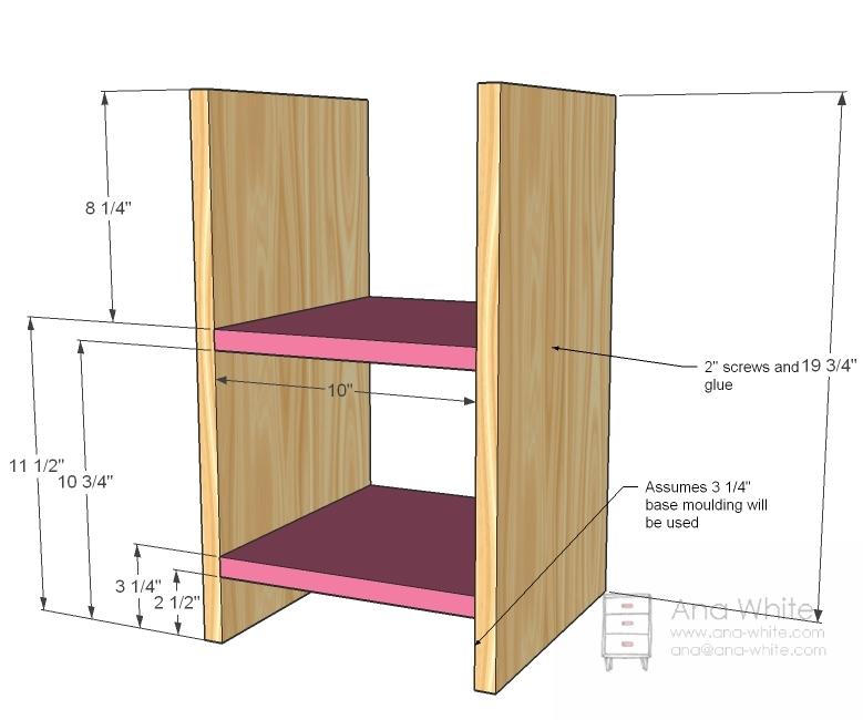 wood shelf building plans