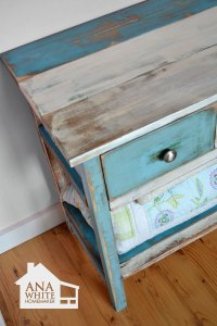 Reclaimed Wood Patchwork Multi Color