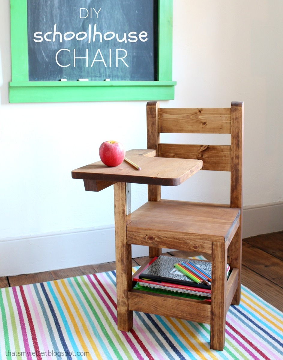 desk chair diy little tikes wooden and ana white schoolhouse with writing pad projects this is actually based off storage that i built when my daughter was three