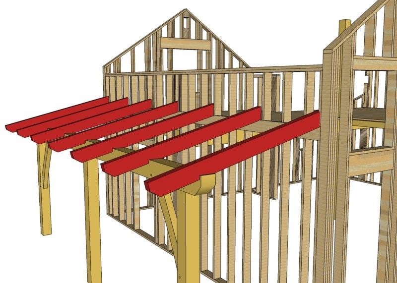 Timber Frame Roof Decking | Framebob org