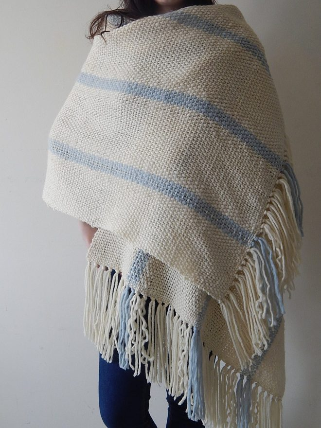 Peça em tear #artesanal, #anabalesca, #inverno, #prazer