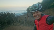 Magic riding through Big Sur at sunrise