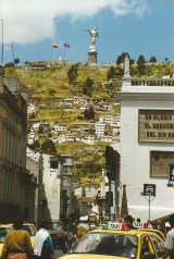 La Virgen del Quito on El Panecillo
