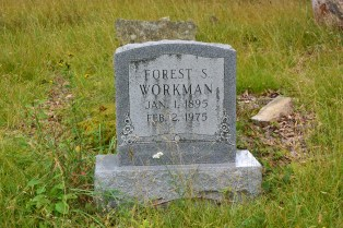 Forest Workman grave