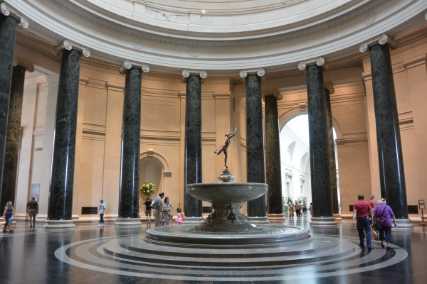 National Of Art Rotunda Glasgow Gallivanter