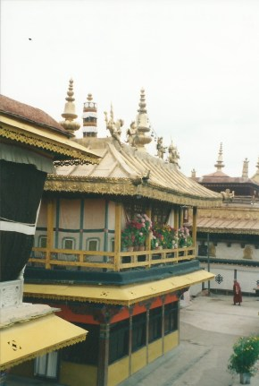 Dalai Lama's quarters at the Jokhang