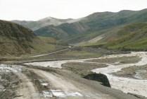 Lhasa - Gyantse road
