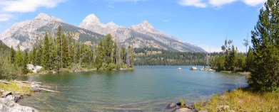 Taggart Lake panorama
