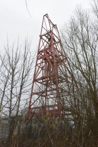 Frances Colliery winding gear