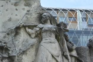 Mihály Vörösmarty statue