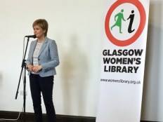 Nicola Sturgeon speaks