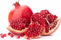 pomegranates in testosterone boosting nutrition