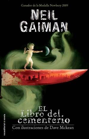 Libro de fantasía juvenil: El libro del cementerio, de Neil Gaiman