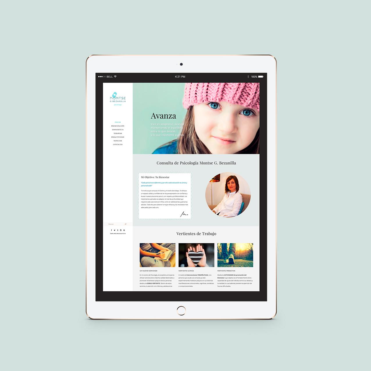 diseño web psicologo en santander cantabria