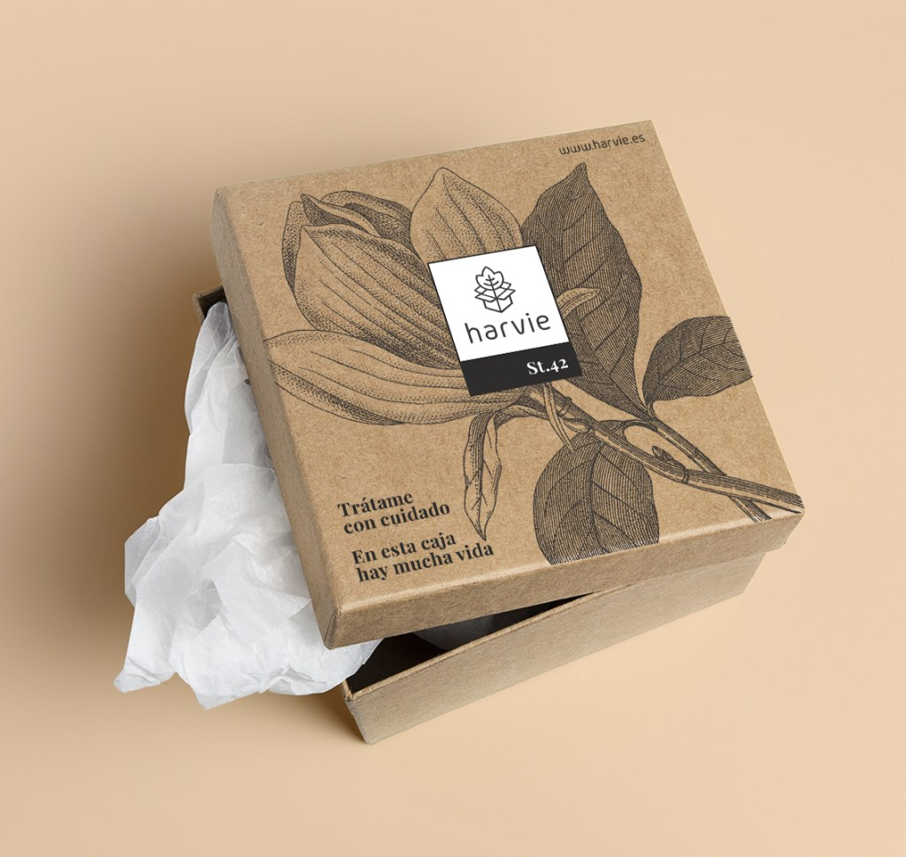 Packaging diseño gráfico