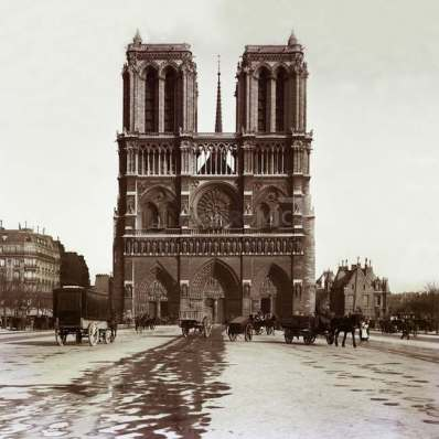 Notre-Dame de Paris vers 1890